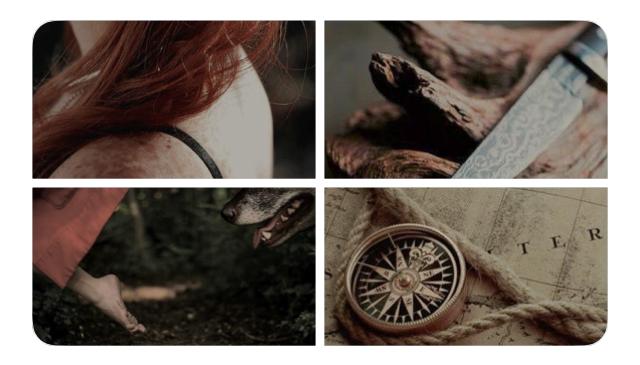 Twitter moodboard ~ Scarletta Ginsen by ElyKiresu