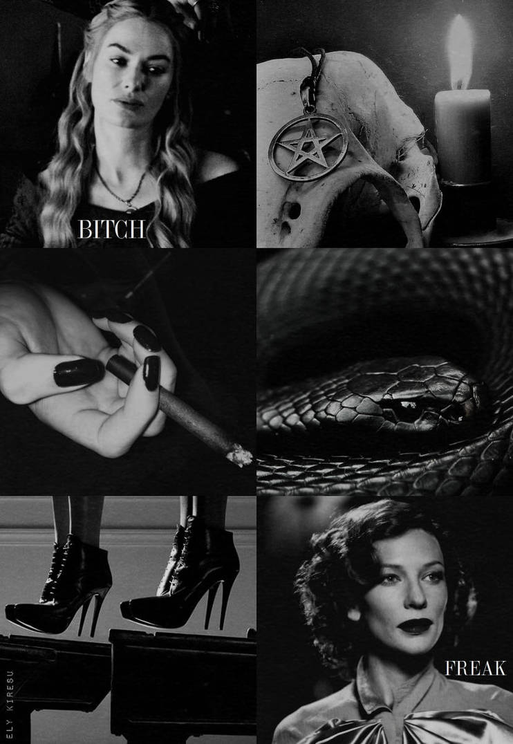 Young Fiona Goode and Myrtle Snow by ElyKiresu
