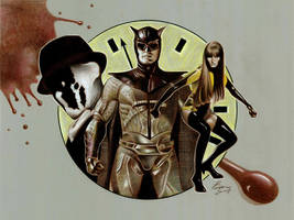 Watchmen by BenCurtis