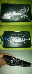 3DSxl - Monster Hunter GS custom in aluminium case by Reyhash