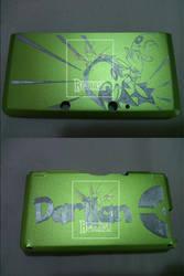 3DS normal - Scizor custom in aluminium case by Reyhash