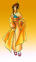 geisha by kuzuryo