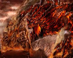 death wing by kuzuryo