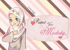 random muslimah 3 by kuzuryo