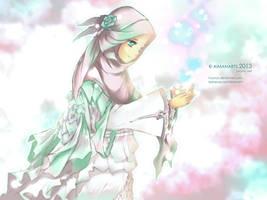 random muslimah 4 by kuzuryo