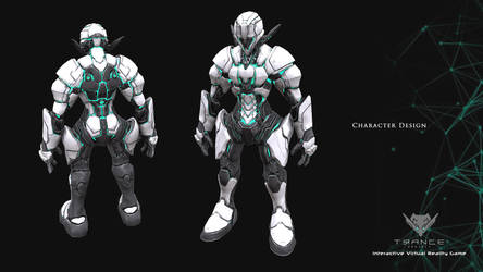 Trance Project: character design 1 by kuzuryo