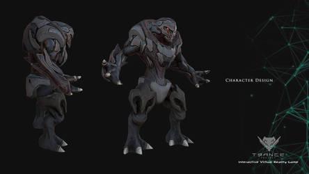Trance Project: character design 2 by kuzuryo