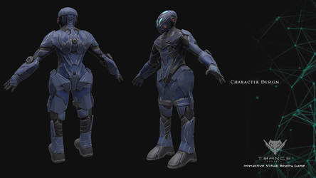 Trance Project: character design 3 by kuzuryo