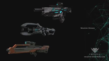 Trance Project: Weapon Design by kuzuryo