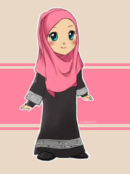 Random Muslimah 7 by kuzuryo