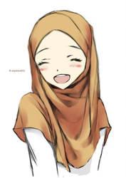 Random muslimah 9 by kuzuryo