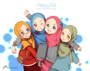 Eid Mubarak 2015 by kuzuryo