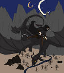 FLATCOLORS Thr. The Inklit Sky by Kali-Balekrone