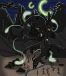 FINISHED The Ink Lit Sky by Kali-Balekrone