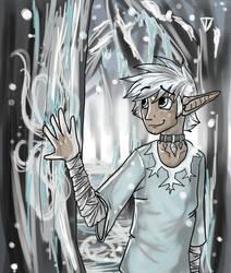 Glace: Keeper of Ice by Kali-Balekrone