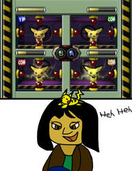 Let Masae play the Pichu Mini-game by JackitK