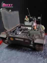 Tamiya's Schutzenpanzer Marder. by Becky-Customizer