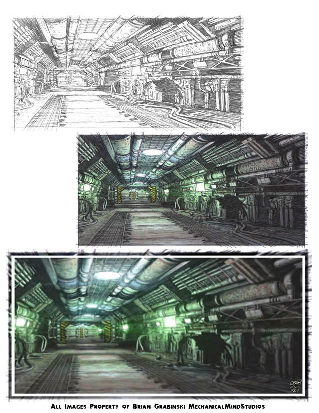 Sci-Fi Art by Concepticon