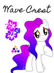 Adoptable: Wave Crest (Closed) by YourInternetMom