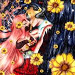 [FAN ART] Leiftan x Rozalia Bathory ( My OC ) by Eelwing