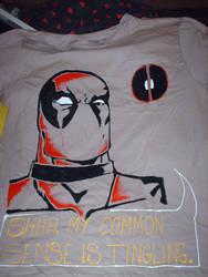 Deadpool T-shirt by SoiledRainbow