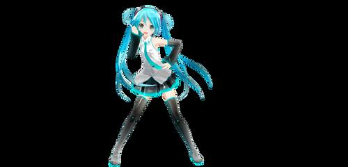 Appearance Miku Hairbun version DL (fixedDL) by Techycutie