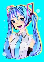 Hatsune Miku V4x by Techycutie