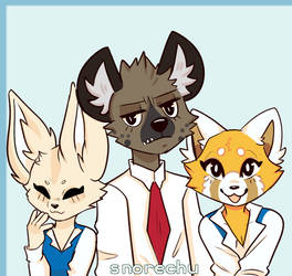 Aggretsuko by Snorechu