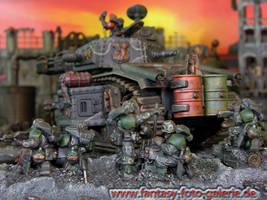 Flammsturmpanzer by volkerheide
