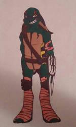 TMNT Fan Turtle by TumbleweedSlider