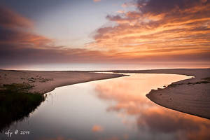 Sunset Beach by nfp