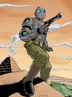 Robo in Egypt by jamesq
