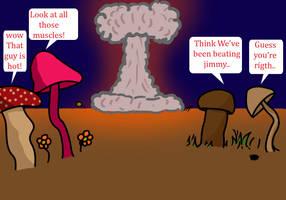 Mushrooms fun by L33boy