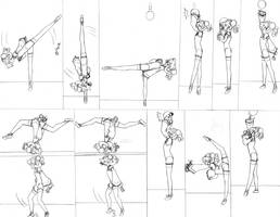 Ball routine 8 by lalunafelis