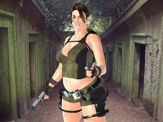 Lara Croft - BBW Tomb Raider by MattBrewer