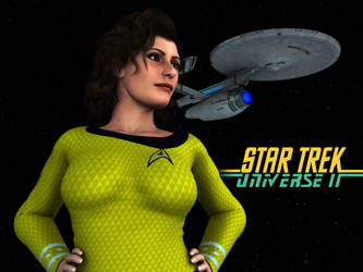 Star Trek UII: The Captain and Her Ship by MattBrewer