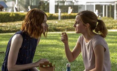 Karen Gillan and Emma Watson - Nose Morph by MattBrewer
