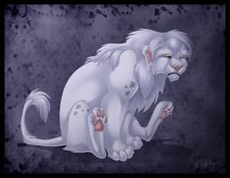 Fluffy the Lion by DolphyDolphiana