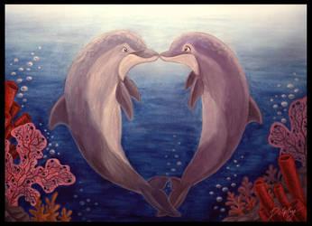 Dolphin Love by DolphyDolphiana
