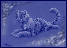 Blue Tiger by DolphyDolphiana