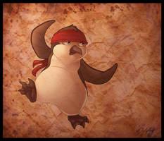 Kung-Fu Penguin by DolphyDolphiana