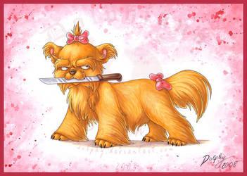 Evil Lap-Dog by DolphyDolphiana
