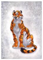 Siberian Tiger by DolphyDolphiana