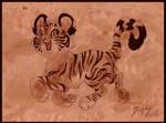 Cheerful Tiger Cub by DolphyDolphiana