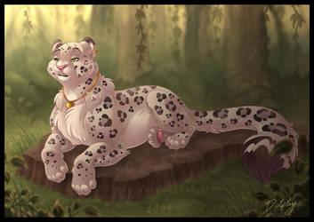 Tropical Snow Leopard by DolphyDolphiana