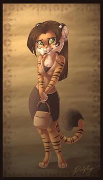 Tiger Girl by DolphyDolphiana