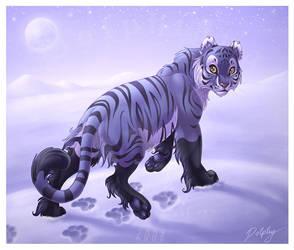 Tigress of the Ice by DolphyDolphiana