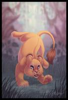 Sporty Lion Cubbie by DolphyDolphiana