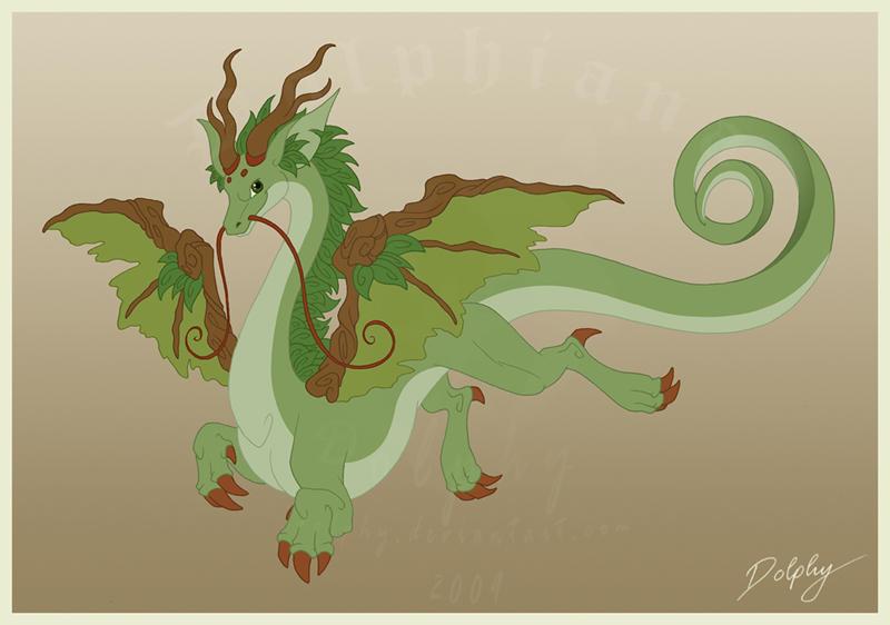 The Root Dragon by DolphyDolphiana