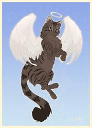 Feline Angel by DolphyDolphiana